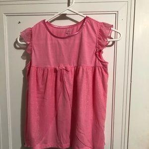 Carter's pink dress 12